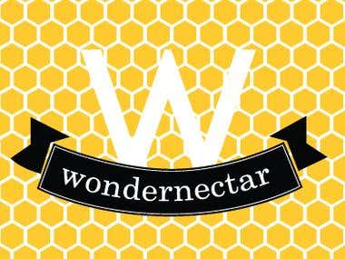 Wondernectar Logo Design