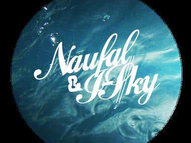 Logo Design Naufal and Isky