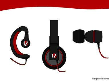 Headphone ideas.