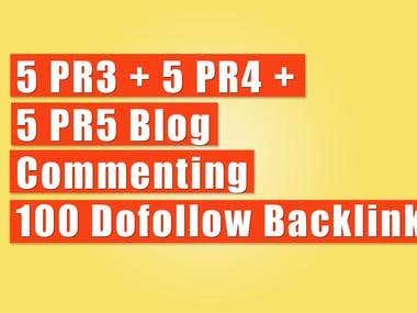 5 PR3 + 5 PR4 +  5 PR5