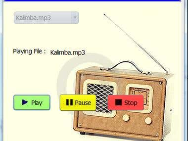 Music Player in java