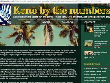 Blog writing for Casino Gaming Website