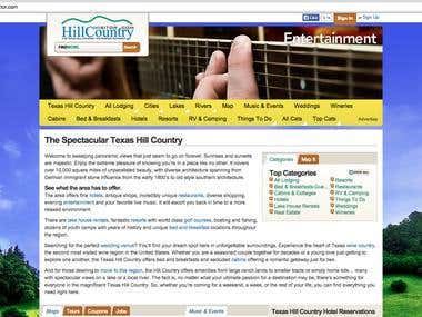 Google Analytics Fix for Hill Country Visitor
