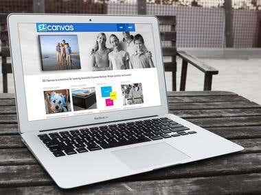 EZ Canvas Website