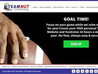 TeamNut Fundraising