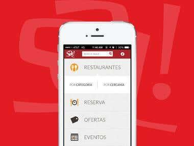 Sal! (Restaurants application – iOS version)