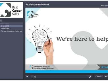 eLearning Course Template in Articulate Storyline