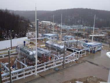 Full Automated Oil & Gas Tank Farm