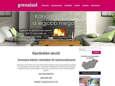 Grenaisol product page
