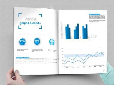 Adobe InDesign Corporate Report Template Design
