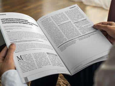 "Magazine \""Medicines\"""