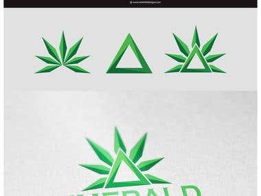 Emerald Triangle Logo designs