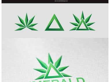 Emerald Triangle Logo designs