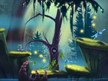 Platformer - Unity3D game