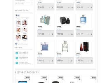 Perfume Shopping Cart