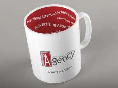 Cup print design