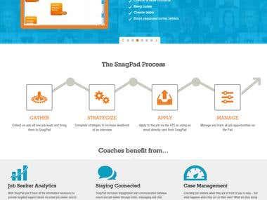 SnagPad - Job Search Portal