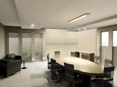 3D design - Meeting room