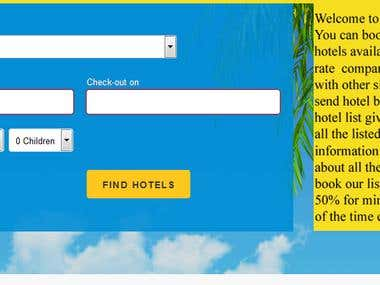 Online Hotel Booking Portal
