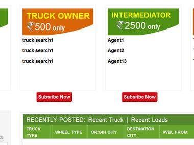 Truck Booking Portal