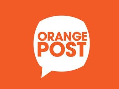 Logo Design for Orange Post
