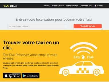 Taxi-Diali web site