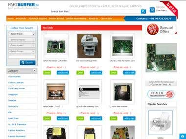 ERP Management System ( Electronics Parts )