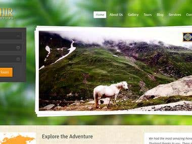 Tour and Travel ( Wordpress )