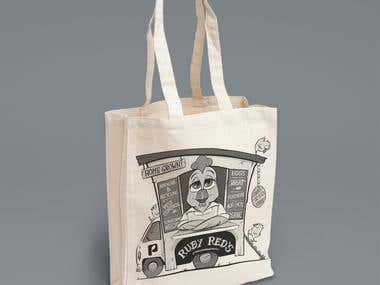 Caricature For T-Shirt and Bags