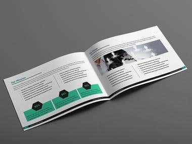 Technology Brochure Template Design
