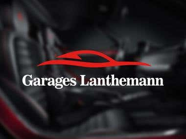 Garages Lanthemann | Logo design