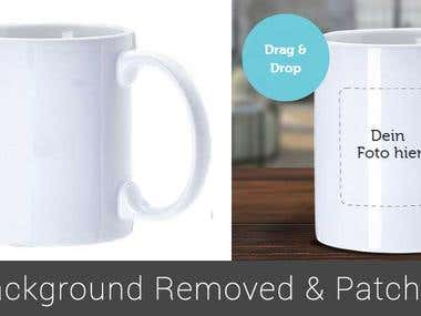Background Remove & Patching Image
