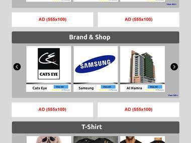 Classified Web site