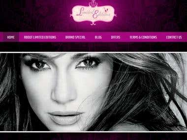 Beauty Products E Commerce Website