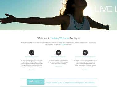 Holistiq wellness Website