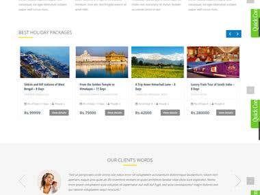 Genesi Travel - Tour & Travel Site