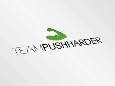 Team Pushharder Logo