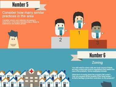 Infographic - Top 10 - choosing a medical site