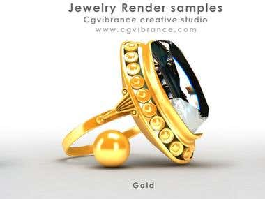 Jewelry renderings