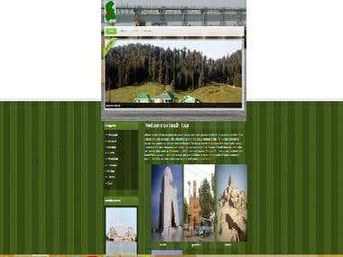 tourisim webpage