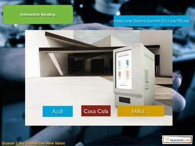 Interactive Vending Machine Software