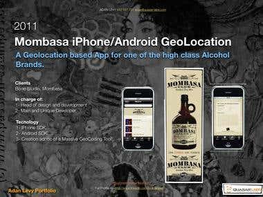 App for Alchol brands