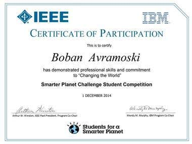 Smarter Planet Challenge