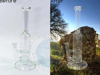 Musk Glass & Transform Object