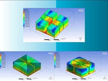 Thermal Optimisation Study of a Heatsink