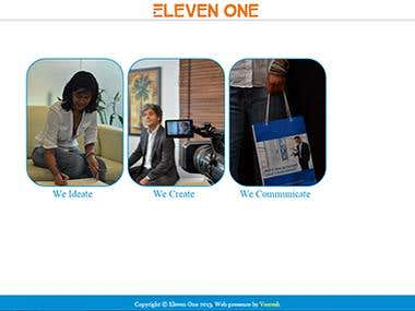 Eleven One Corporate Website