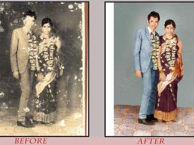 Photo Restoration Services