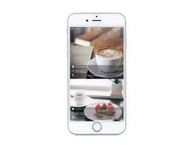 Café app concept