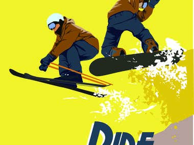 Snowshooter Classic #1 Poster