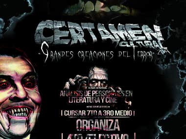 "Flyer evento ""Halloweed\"""